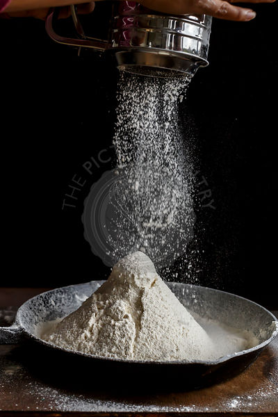 Sifting Flour, Ready for baking