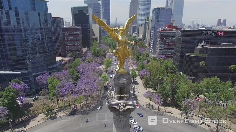 The Angel of Independence Paseo de la Reforma Mexico City