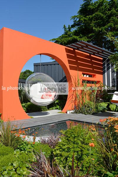 La Phototheque Les Plus Beaux Jardins Mur De Couleur