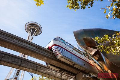 Seattle Center Monorail, Seattle, Etats-Unis
