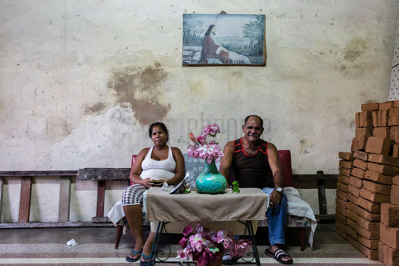 Portrait of a Man and his Niece in their Home