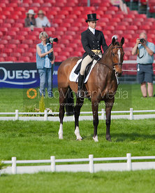 Izzy Taylor and Briarlands Matilda - Dressage.