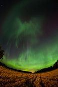 Northern Lights above Southern Finland on April 8 2016.