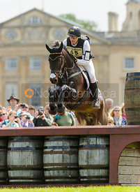 Andreas Dibowski and BUTTS LEON - Cross Country - Mitsubishi Motors Badminton Horse Trials 2013.