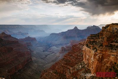 Sunset over North RIm, Grand Canyon, USA
