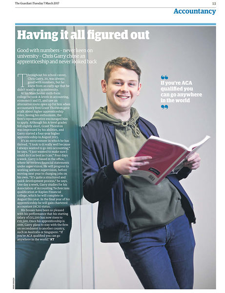 The Guardian feature about apprentices
