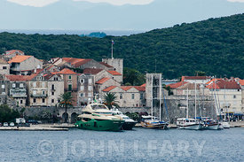 The waterfront at Korcula Old Town.