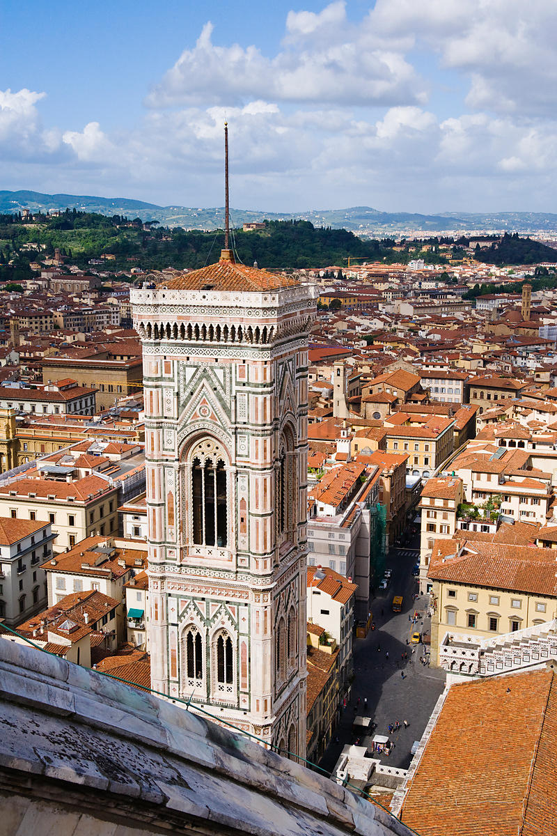 The Campanile, Cathedral of Santa Maria del Fiore, Florence, Italy