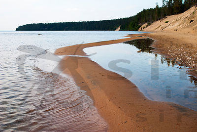 Sandy Beach of Island Ärjä