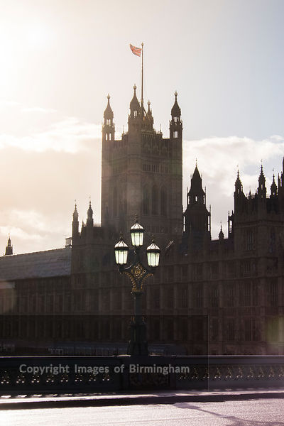 The Palace of Westminster. The meeting place of the House of Commons and the House of Lords, the two houses of the Parliament...