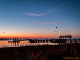 Charleston Harbor Pier