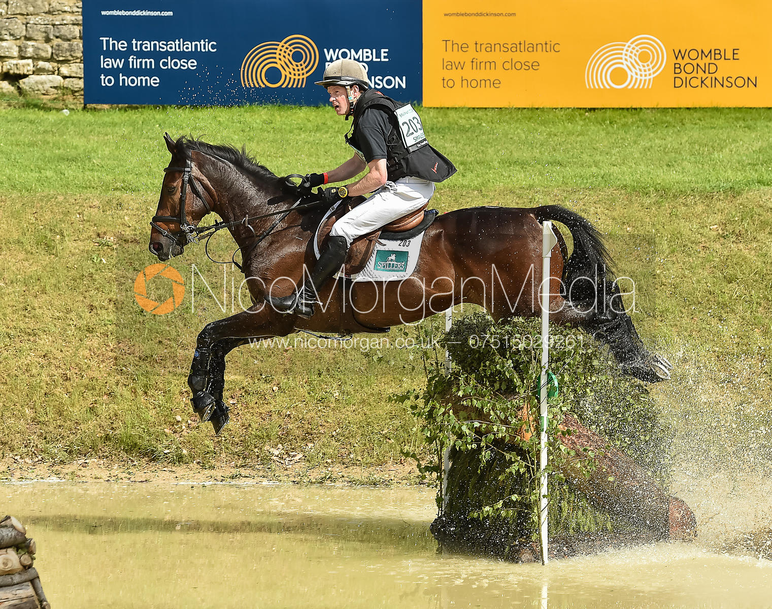 Angus Smales and ESI PHEONIX, Equitrek Bramham Horse Trials 2018