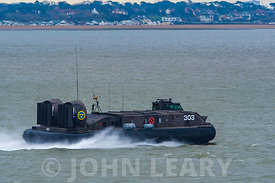 Swedish Navy Hovercraft 303.