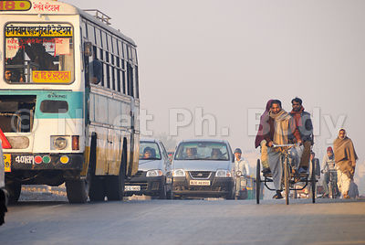 INDE, NEW DELHI, CIRCULATION//INDIA, NEW DELHI, TRAFFIC