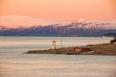 Small Lighthouse in Twilight