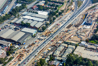 M4 Motorway Widening, Homebush West