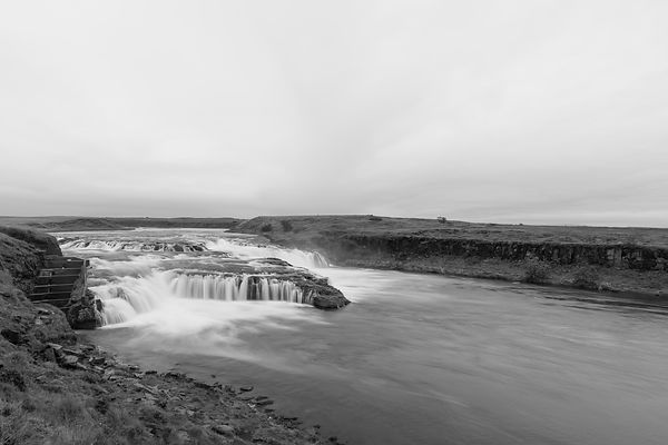 Ægissíðufoss Waterfall