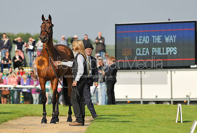 Clea Phillips and Lead The Way - 2nd Inspection - Burghley 2010