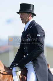 Andrew Nicholson and NEREO - Dressage - Mitsubishi Motors Badminton Horse Trials 2013.