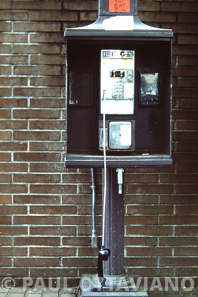 Public Phone | Paul Ottaviano Photography