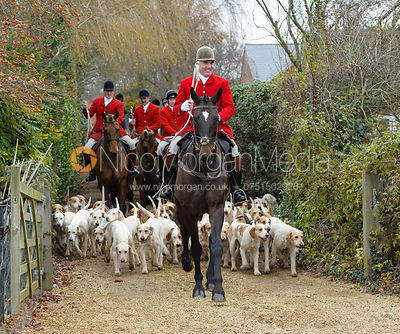 The Cottesmore Hunt at Parva Lodge 5/12