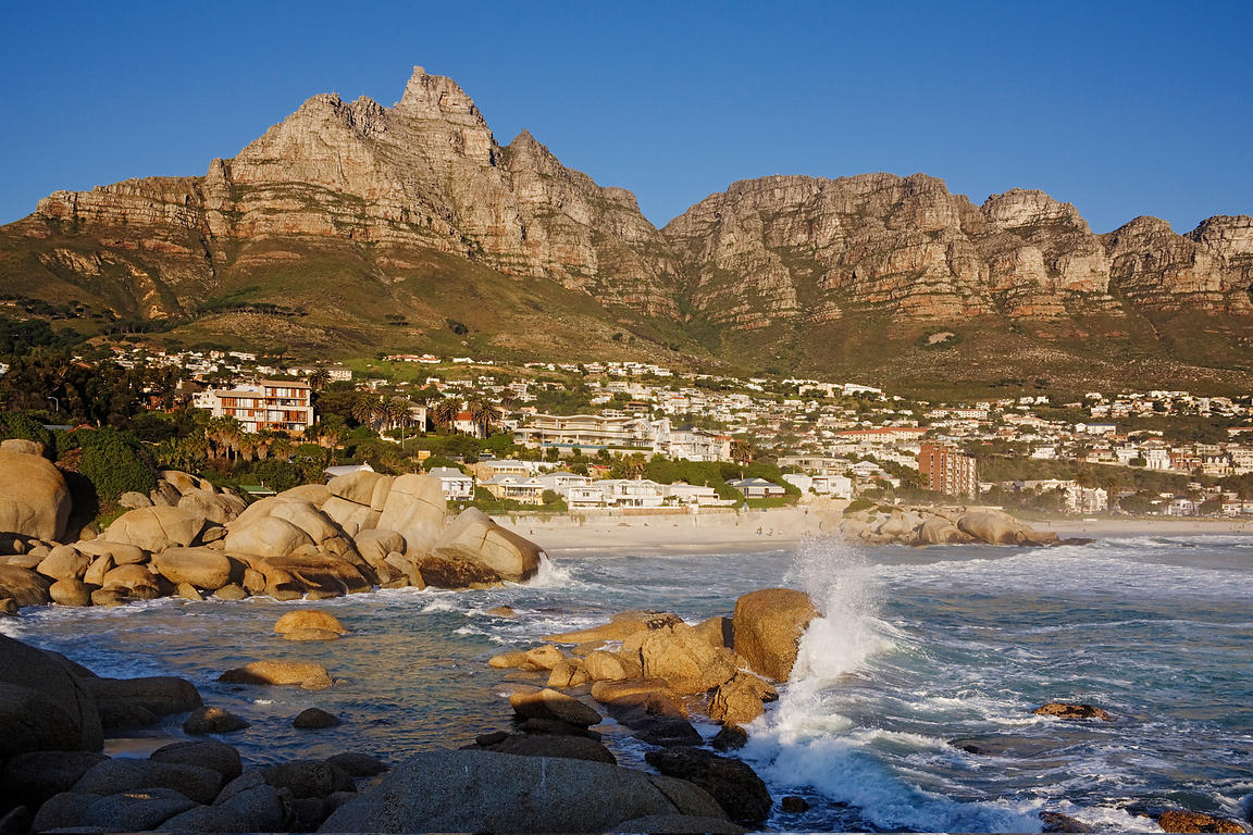 Camps Bay and Twelve Apostles Cape Town Western Cape South Africa