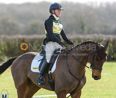 Eliza Stoddart and CLIFFORD. Oasby (1) Horse Trials 2019