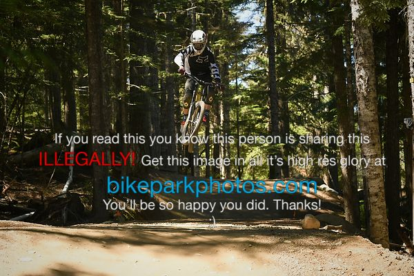 Wednesday July 11th - ALine Double bike park photos