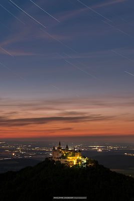 Hohenzollern twilight - Germany