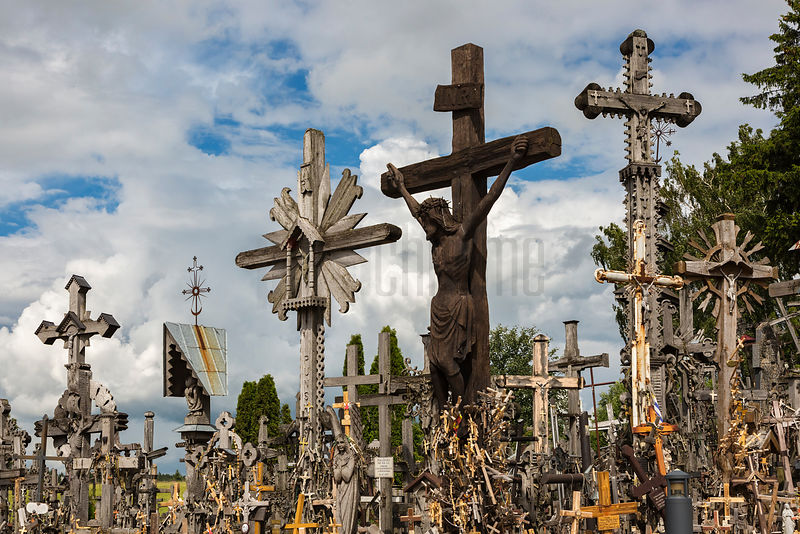 Some of the many Thousands of Crosses at the Hill of Crosses