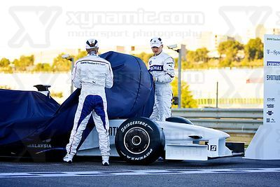 2009 F1 - BMW F109 Launch Valencia