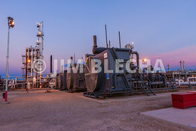 Natural Gas Compression Photography
