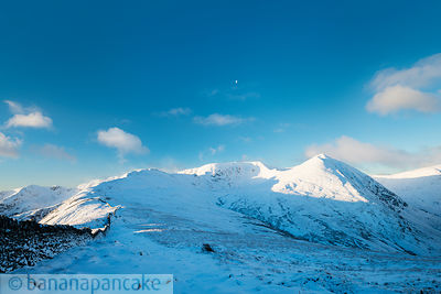 Helvellyn, Lake District, Winter - BP3330
