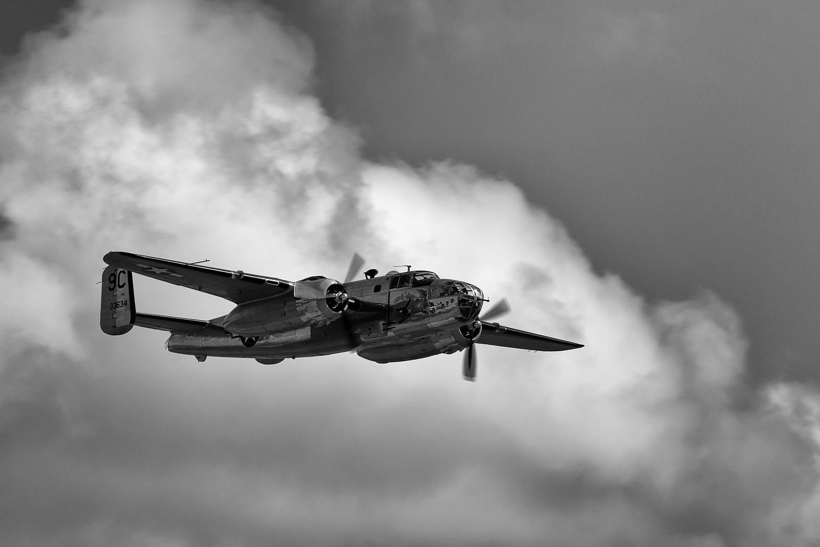 B-25D Mitchell Yankee Warrior