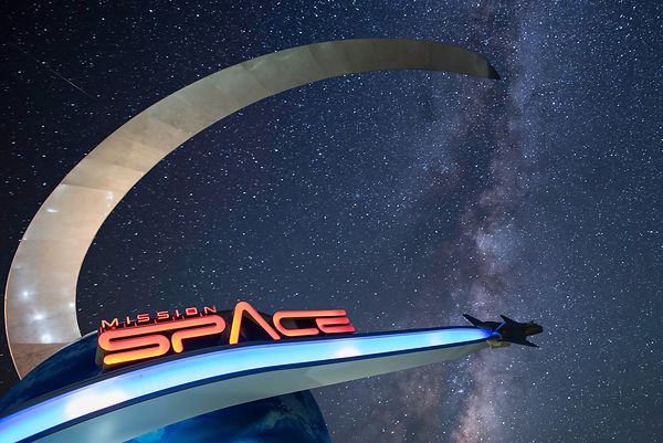 Mission Space and the Milky Way