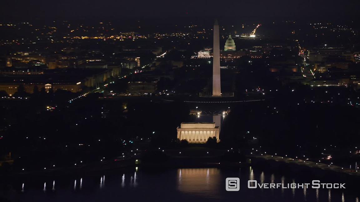 Overflightstock Washington D C Early Morning Aerial View Of The