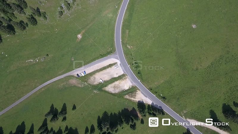 Col du Marchairuz (el. 1447 m.) is a high mountain pass in the Jura Mountains in the canton of Vaud in Switzerland