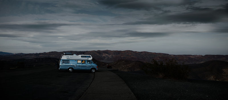 Near the Ubehebe crater, Death Valley National Park, California