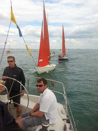 TOP OF THE CLASS IN COWES