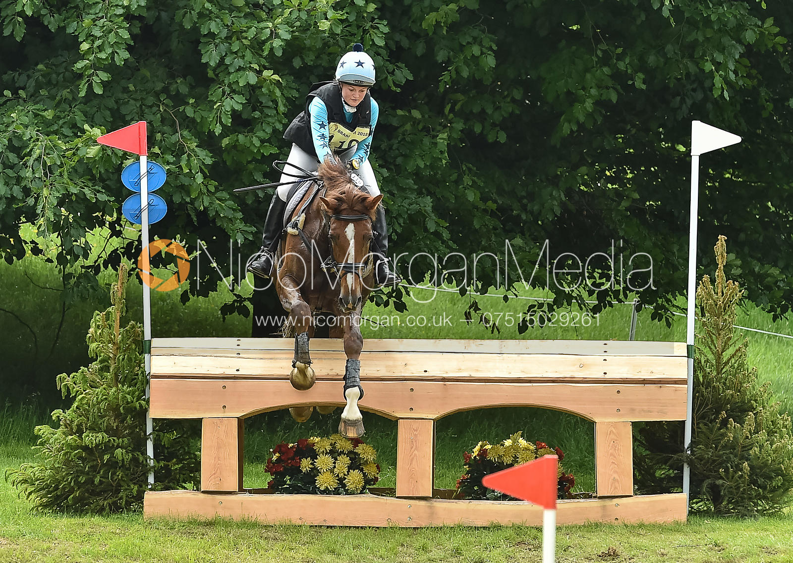 Caroline Clarke and TOUCH TOO MUCH, Equitrek Bramham Horse Trials 2018
