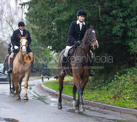 Adrienne Coombe - The Cottesmore Hunt at Belton-in-Rutland 21/12