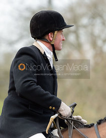 Willie Reardon at the Cottesmore Hunt meet at Little Dalby Hall