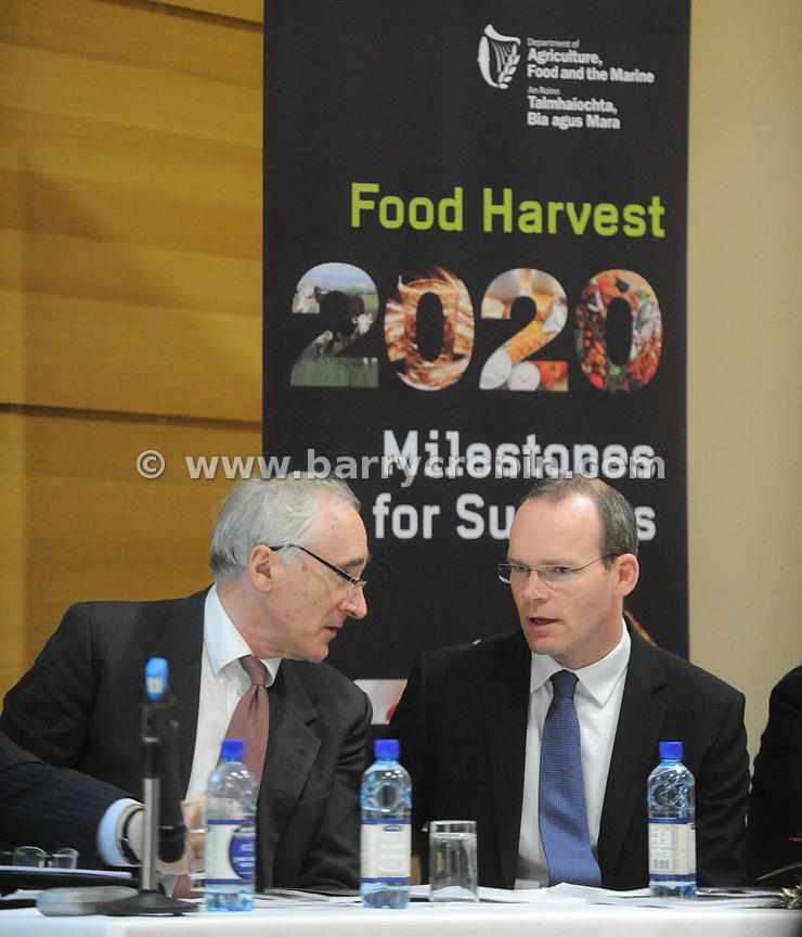 12th December, 2011.Minister Simon Coveney T.D. announces research grant awards of €10million for Agri Food research and laun...