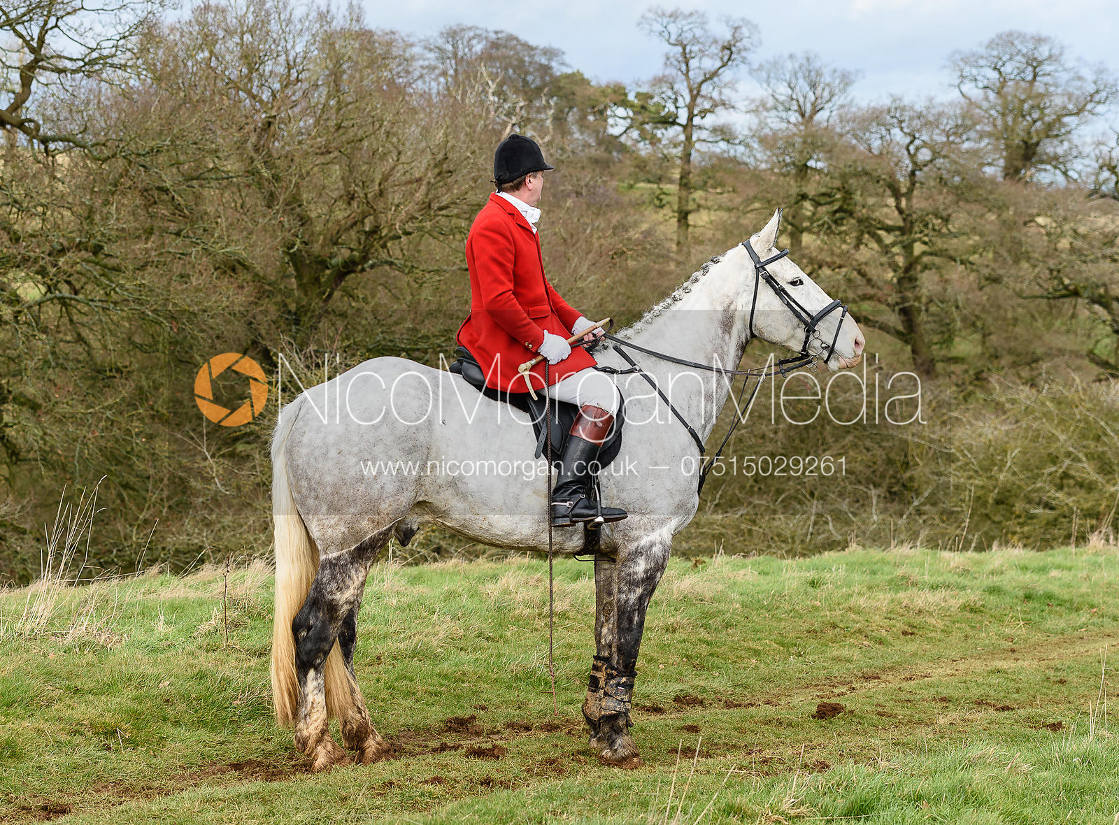 David Bellamy at Croxton Park. The Belvoir Hunt at Eaton Grange 7/2