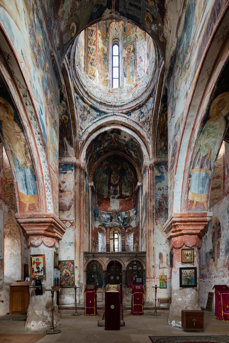 Interior of The St George's Church, Gelati Monastery