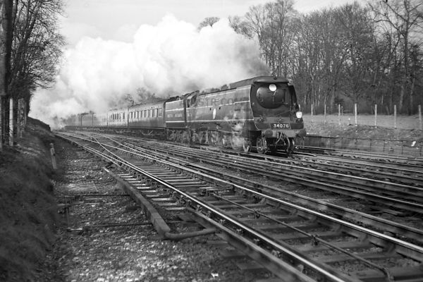 Steam Loco BB 34076  41 SQUADRON