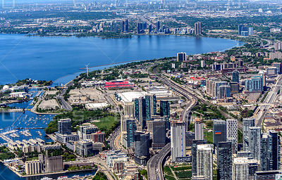 Downtown Core of the City of Toronto and its Waterfront