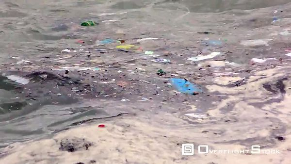 Floating Oil and Debris and Plastics Pollution