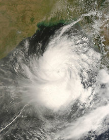 The first cyclone of the 2008 season in the northern Indian Ocean was a devastating one for Myanmar (Burma).