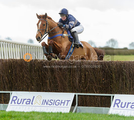 GOLDEN TOBOUGGAN (Claire Hardwick) - Race 2 - PPORA Members - The Cottesmore Point-to-point 26/2